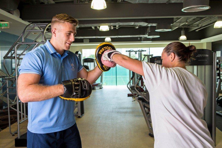 Michael Lancaster Personal Trainer Session Fit Lab Dubai