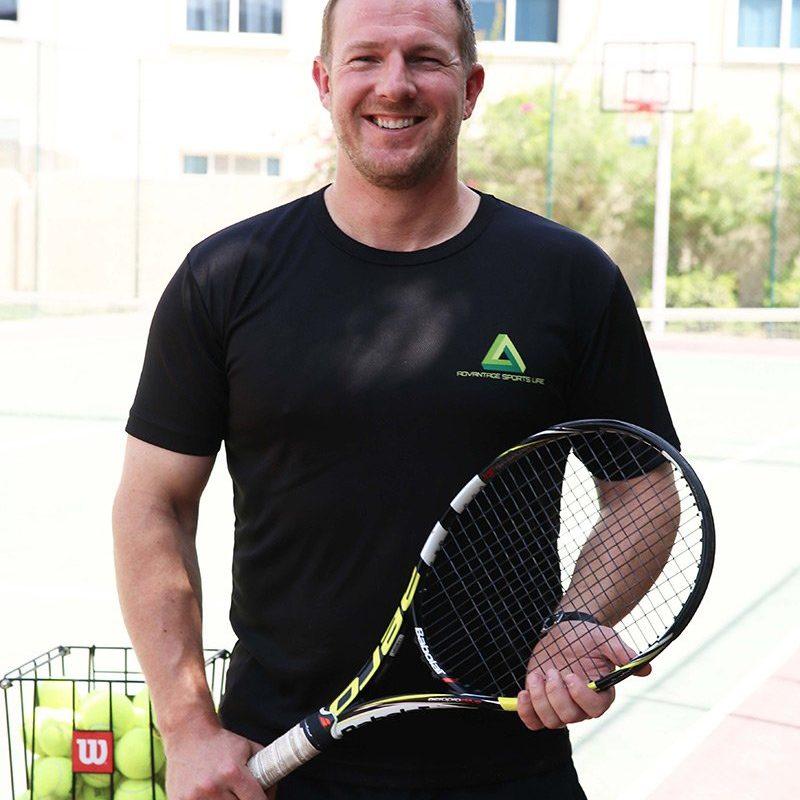 Matt Inglis - Personal Tennis Trainer Based in Abu Dhabi