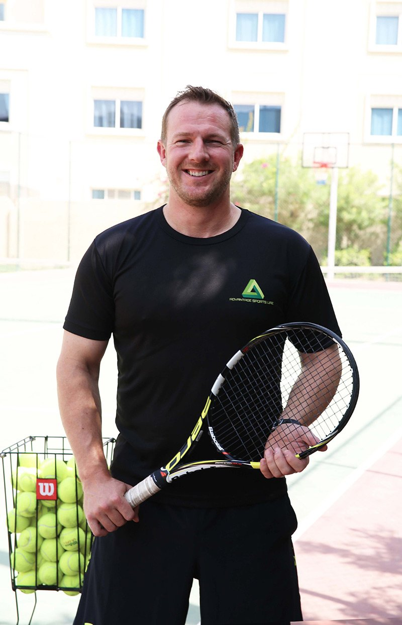Matt Inglis - Personal Tennis Trainer Based in Abu Dhabi