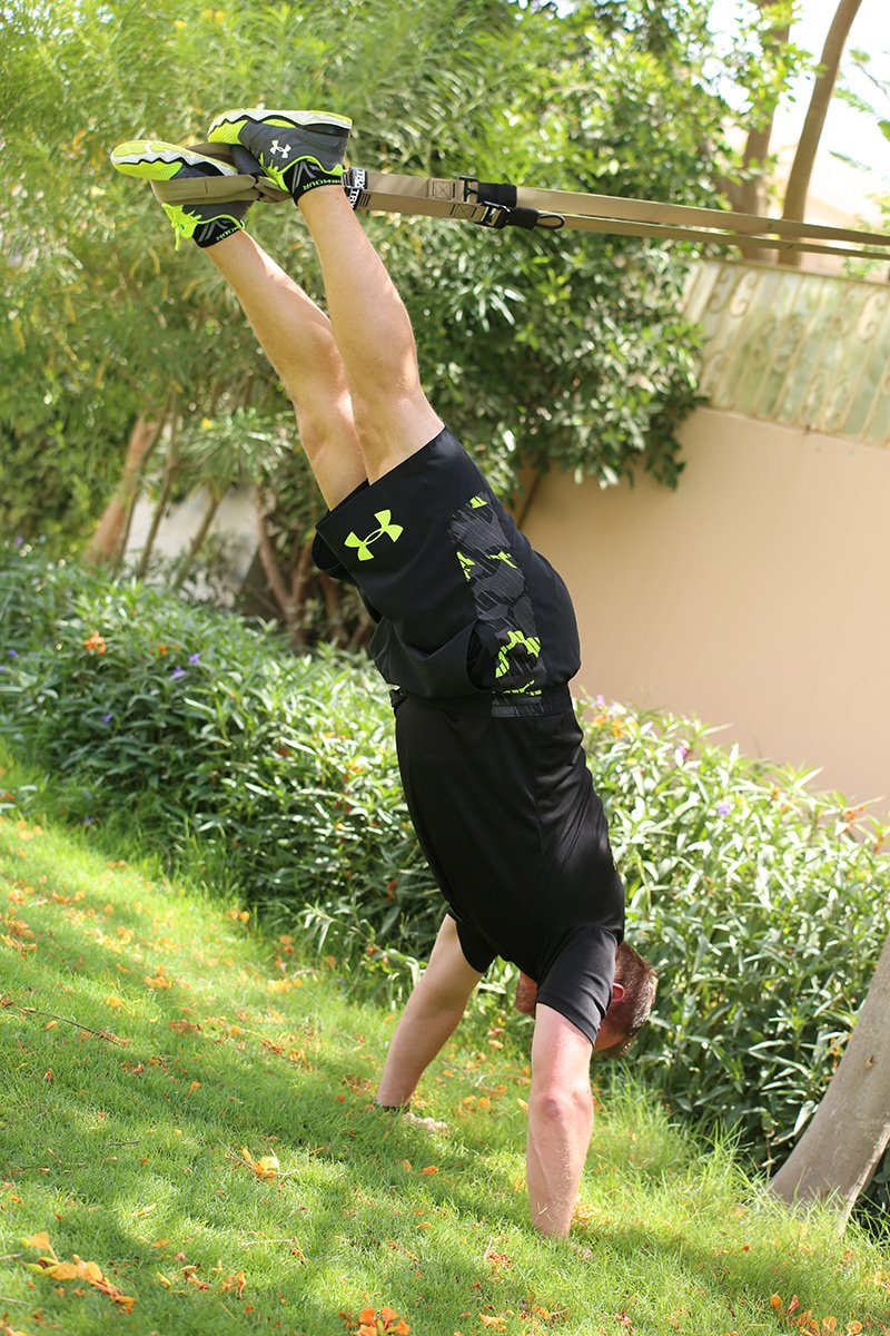 Matt Inglis - Personal TRX Trainer Based in Abu Dhabi