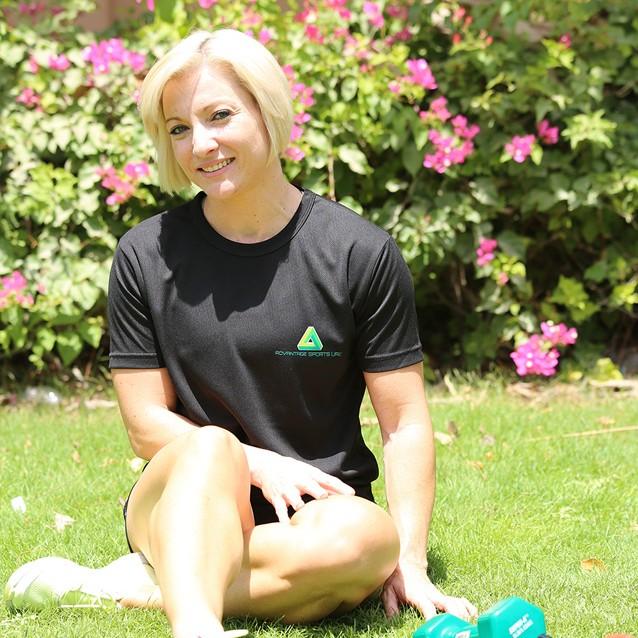 Robyn Van Ravesteyn Personal Trainer Abu Dhabi Advantage Sports