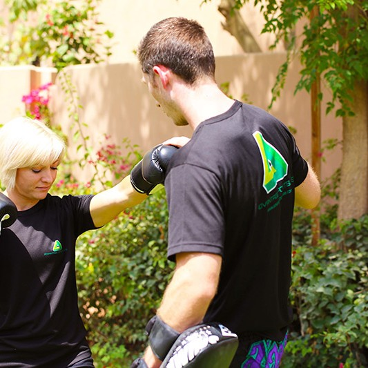 Robyn Van Ravesteyn Martial Arts Personal Training Abu Dhabi