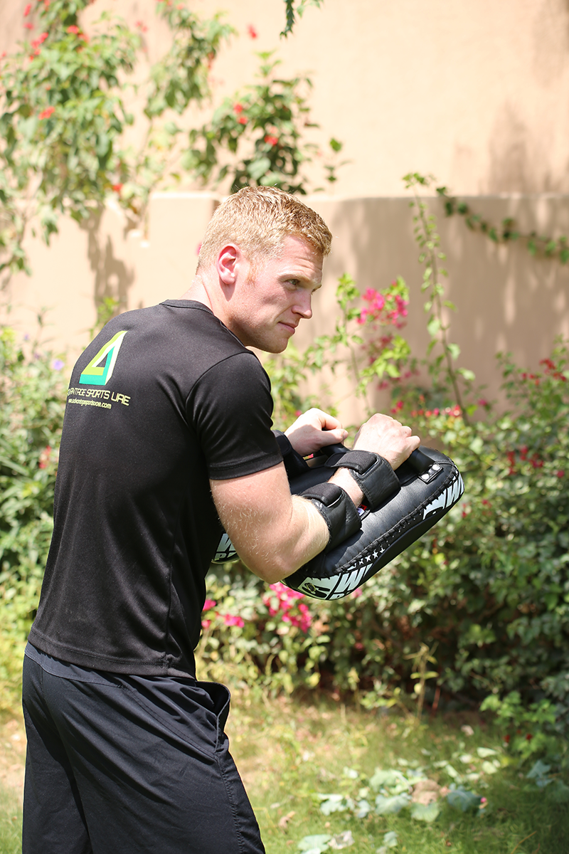 Jack McAllister Personal Boxing Coach In Abu Dhabi