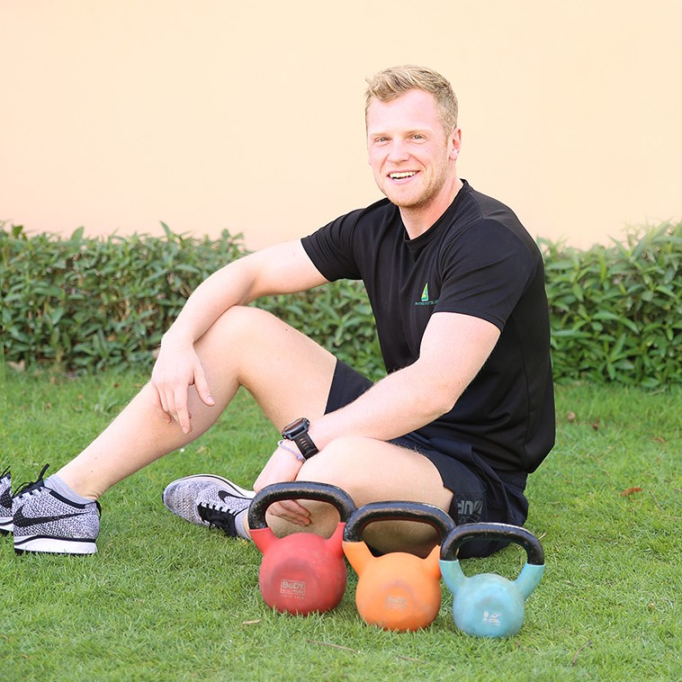 Get fit in Abu Dhabi UAE with private personal trainer Jack McAllister