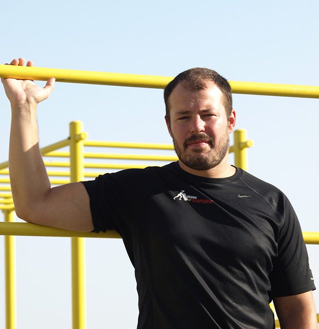 Male Personal Trainer In Dubai Dan - Born2Perform Fitness