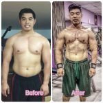 Sharjah Personal Trainer Shihab - Client Weight Loss Image