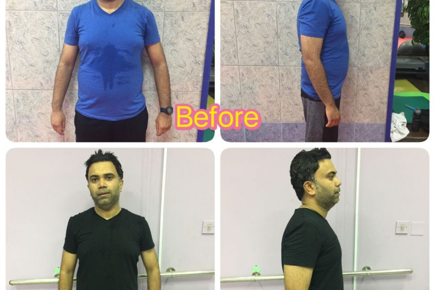 Sharjah Personal Trainer Shihab - Client fat Loss Image