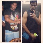 Shihab's Dubai PT client - before and after personal training