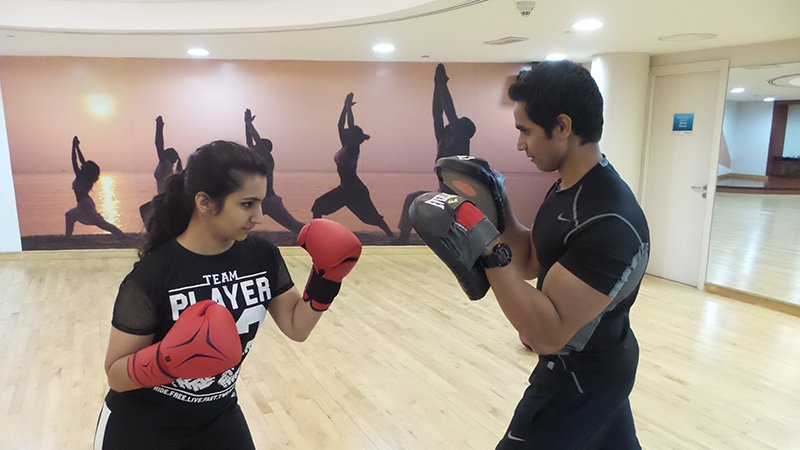 Dubai boxing Personal training with Shihab