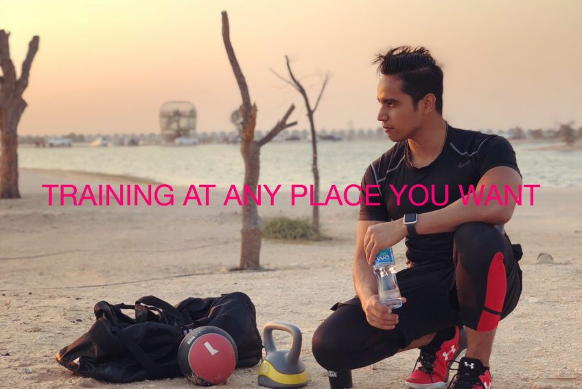 personal trainer and fitness coach in Dubai - Shihab 4