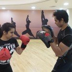 Boxing personal trainer in Sharjah - training with Shihab C Alavi
