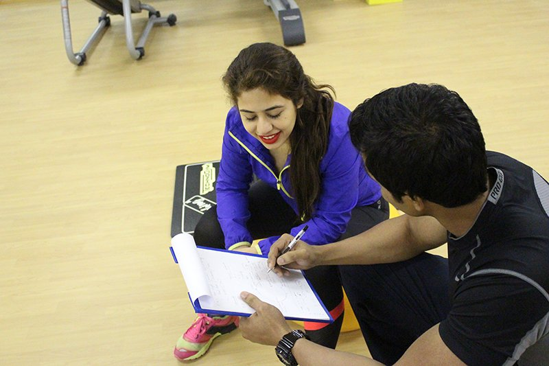 Sharjah Personal Trainer Shihab - Client Fitness Evaluation & Assessment