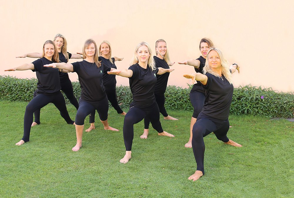 Private yoga lessons for 1to1 or groups in Abu Dhabi, Dubai and Sharjah UAE
