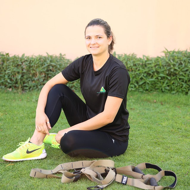 Female Fitness Coach & Personal Trainer In Abu Dhabi - Sara Primo