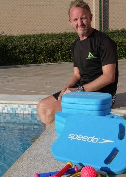 Jason Wagner - Private and group swimming lessons in Abu Dhabi