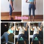 Ladies Personal Trainer in Dubai Viktoria - Client Before & After Training Images