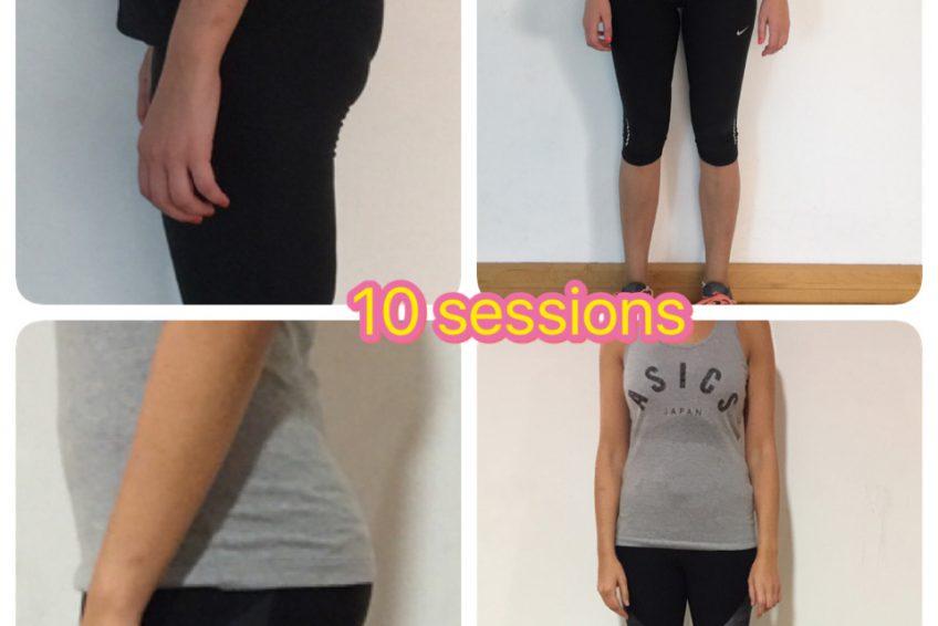 Ladies Personal Trainer in Dubai Viktoria - Client Before & After Training Images 2