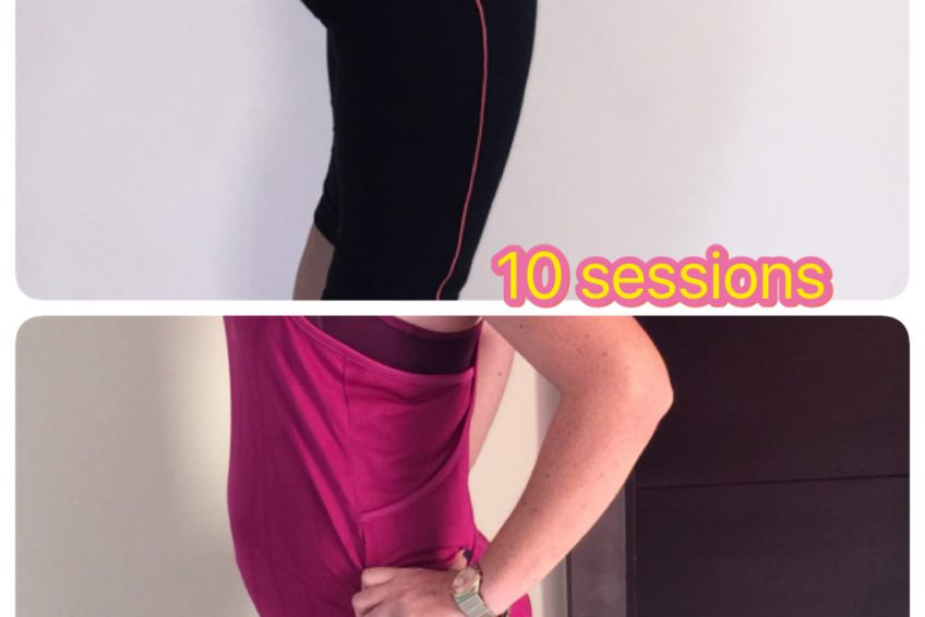 Ladies Personal Trainer in Dubai Viktoria - Client Before & After Training Image 3