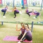 Ladies Personal Trainer in Dubai Viktoria - Client Before & After Training Image 5