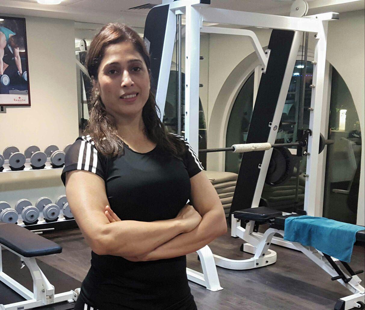 Female Personal Trainer In Sharjah – Rana