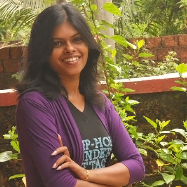 Female Yoga Personal Trainer & Class Instructor Hema D Souza For Male & Female Clients