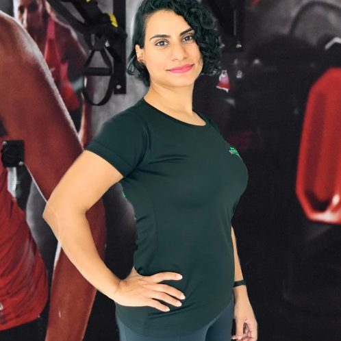 female personal trainer and yoga teacher in Dubai - Rafaa