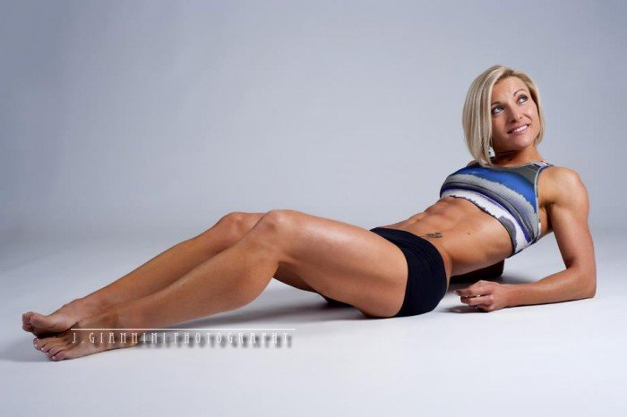 Robyn Van Ravestyn - AD Personal Training - competition physique