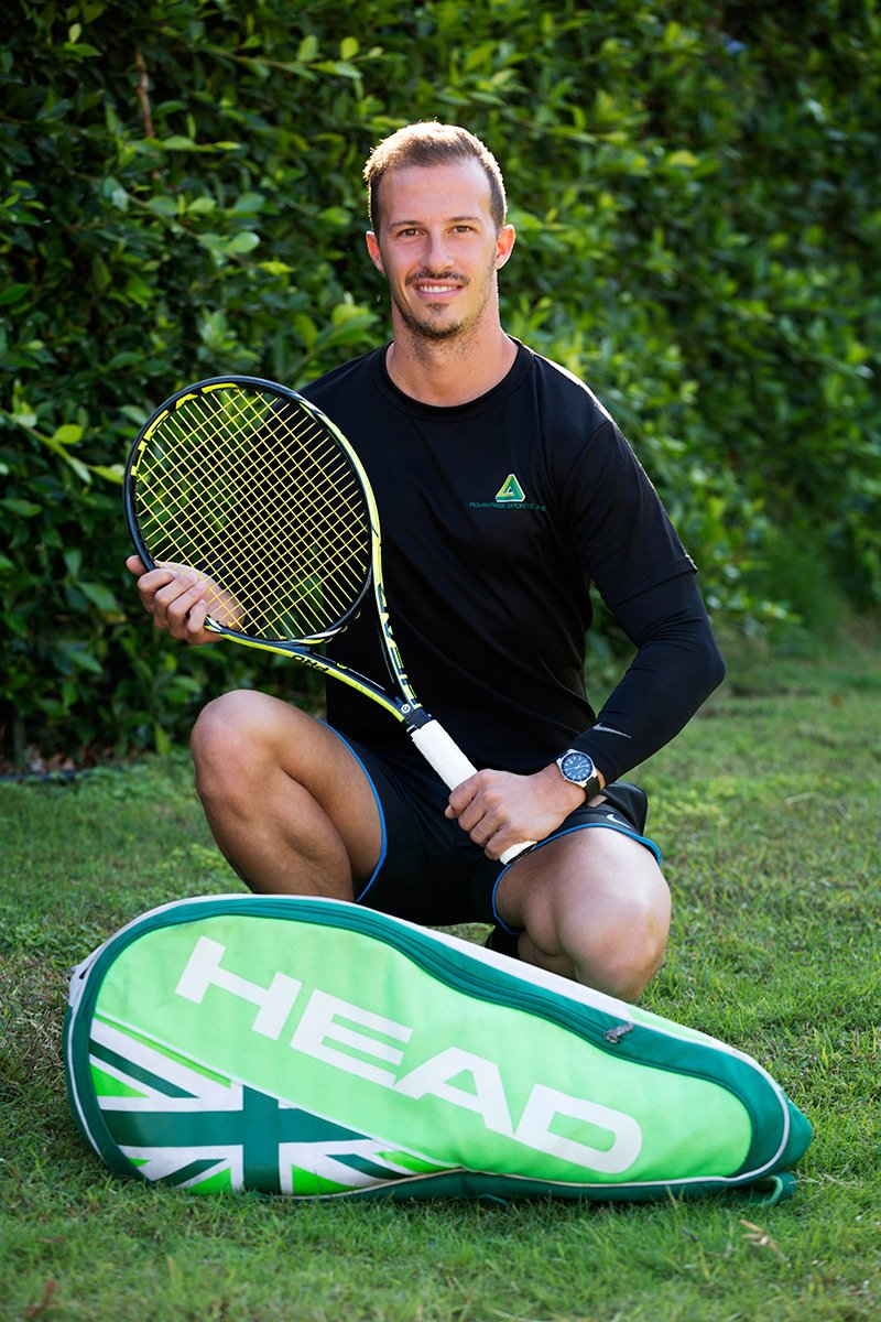 personal tennis training in Dubai with Marco