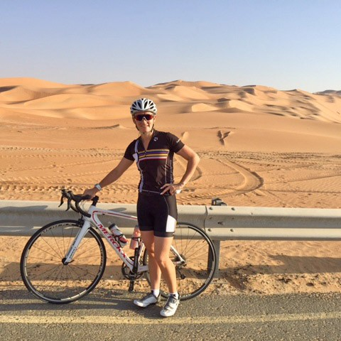 Cycling In Abu Dhabi With A Personal Trainer