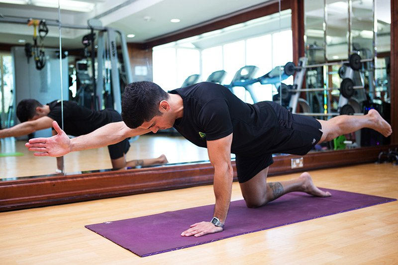 Body toning with Pilates in the UAE - PT Tiago