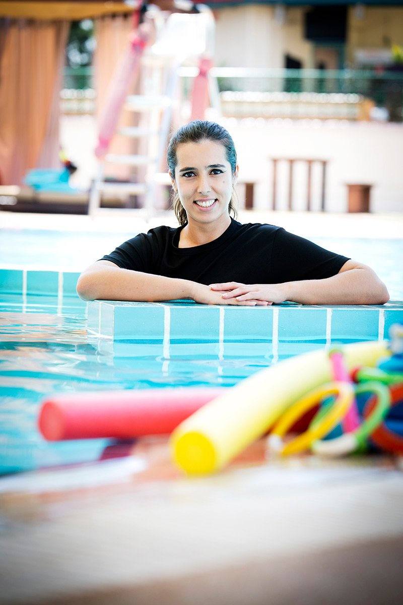 Swimming Lessons In Abu Dhabi With PT Claudia Santos