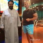bodybuilding personal trainer in Dubai - Aly