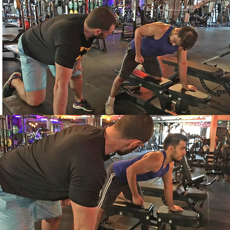 Motivating Dubai Personal Training Client - Bojan Popovic
