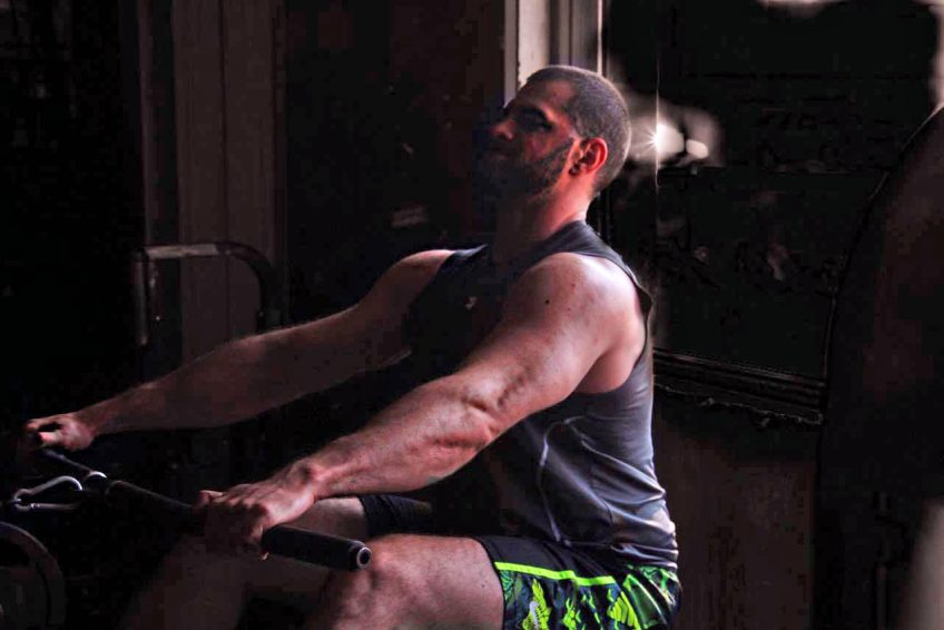 Muscle building with Dubai PT Bojan Popovic