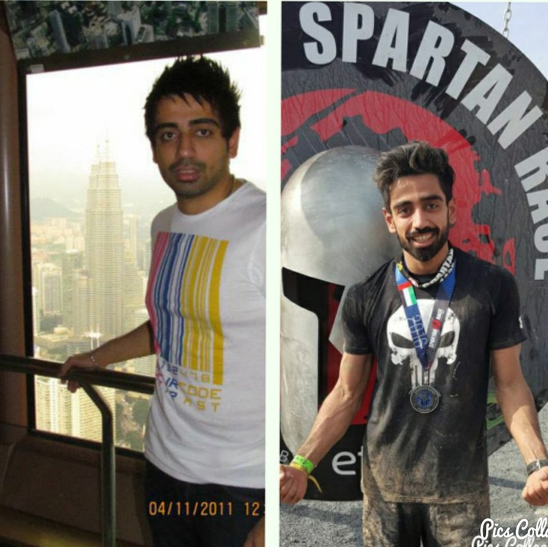 Personal Trainer In Dubai Bojan - Client before and after result images 3