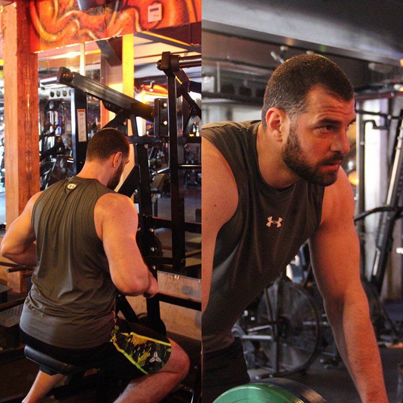 Professional body transformation PT in Dubai Bojan Popovic