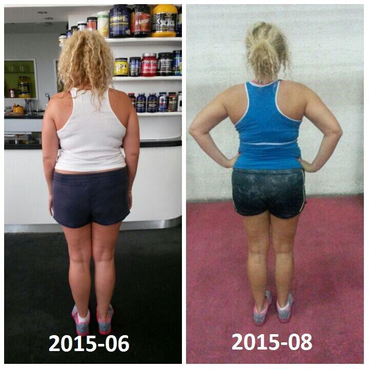 Dubai professional body sculpting personal trainer client image 4