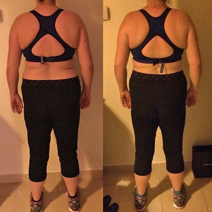 Body tone-up personal trainer in Dubai Paul Magnus - client before after images 3