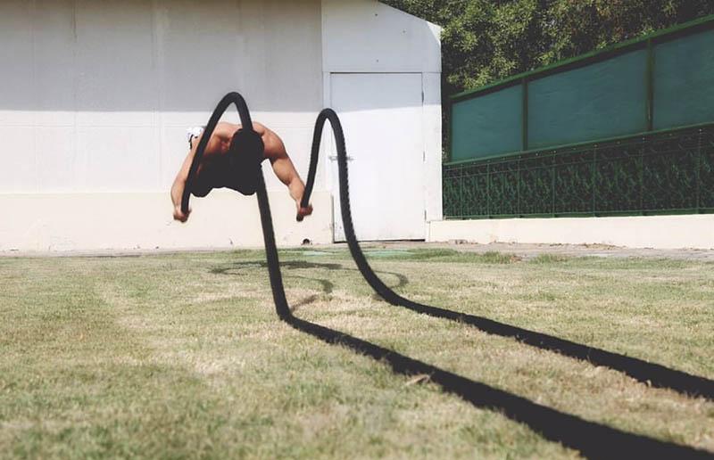 Abu Dhabi PT Alberto - Battle Rope Training 2