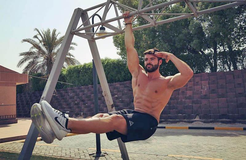 Abu Dhabi PT Alberto - Bicep Training Exercises