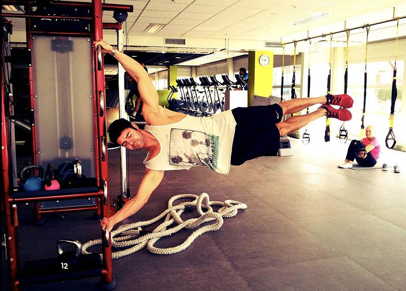 Abu Dhabi PT Alberto - Upper Body Workouts