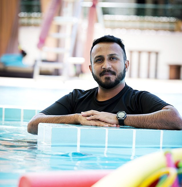 Sudesh - Swimming Trainer In Abu Dhabi For Adults & Children