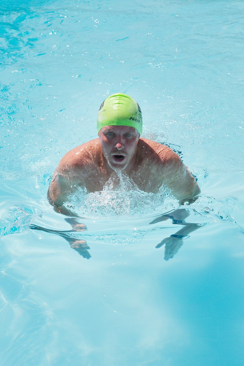 Abu Dhabi Swimming PT Jason Wagner Pool Training