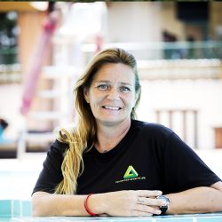 Kay Harwood - Female Swimming Coach and Trainer in Abu Dhabi