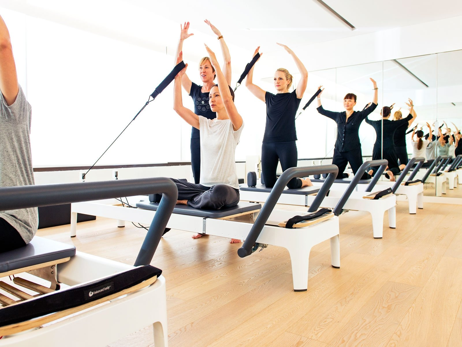Pilates reformer group sessions in Abu Dhabi & Dubai
