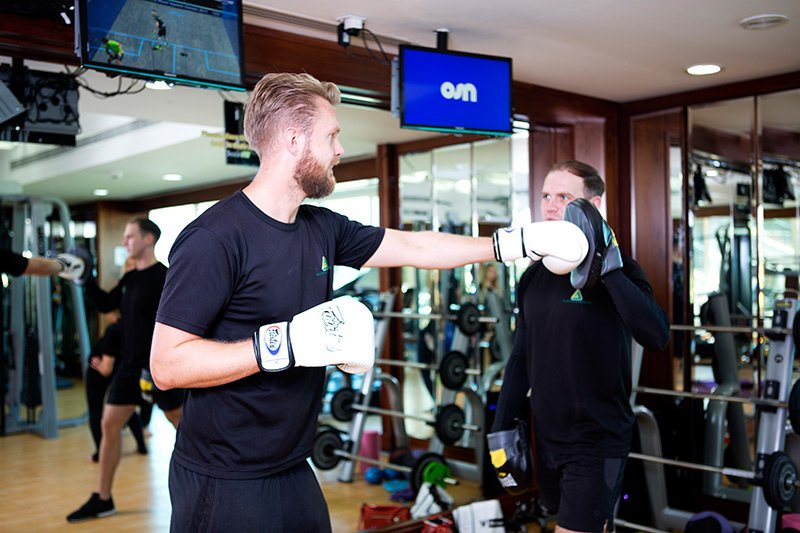 Jabbing, Sparring & Boxing Classes for fitness in Abu Dhabi, UAE