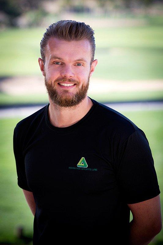 Golf Fitness Personal Trainer Abu Dhabi - Chris