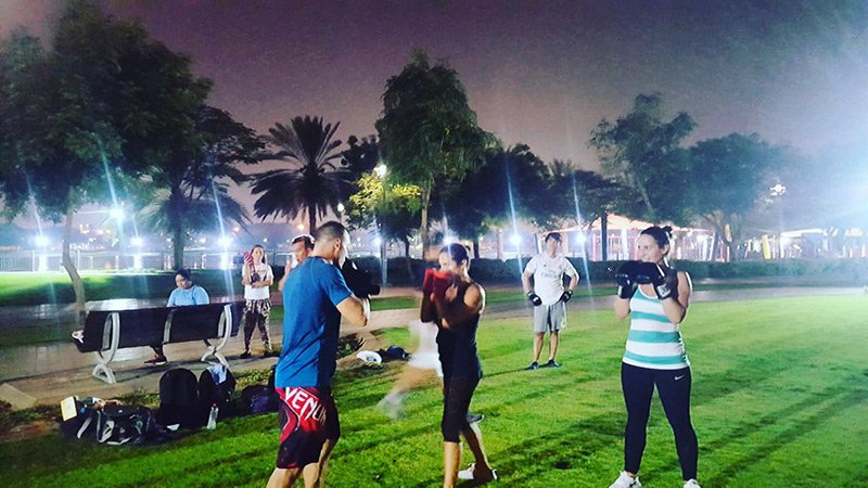Kick Boxing Classes In Dubai With Personal Trainer Hussein