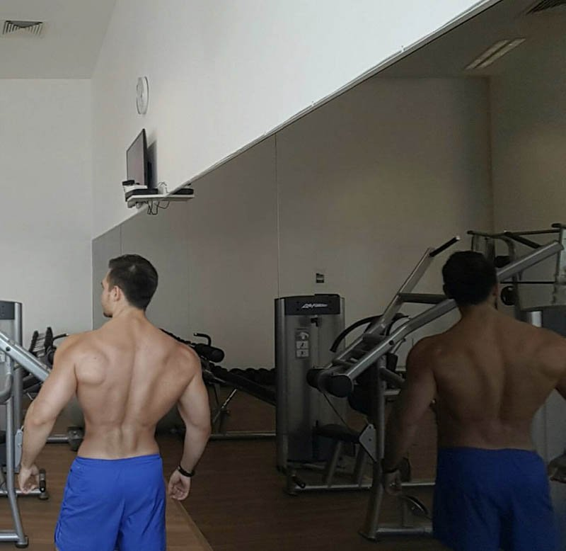 Abu Dhabi Personal Trainer Andrey - Back Muscle Training Exercises