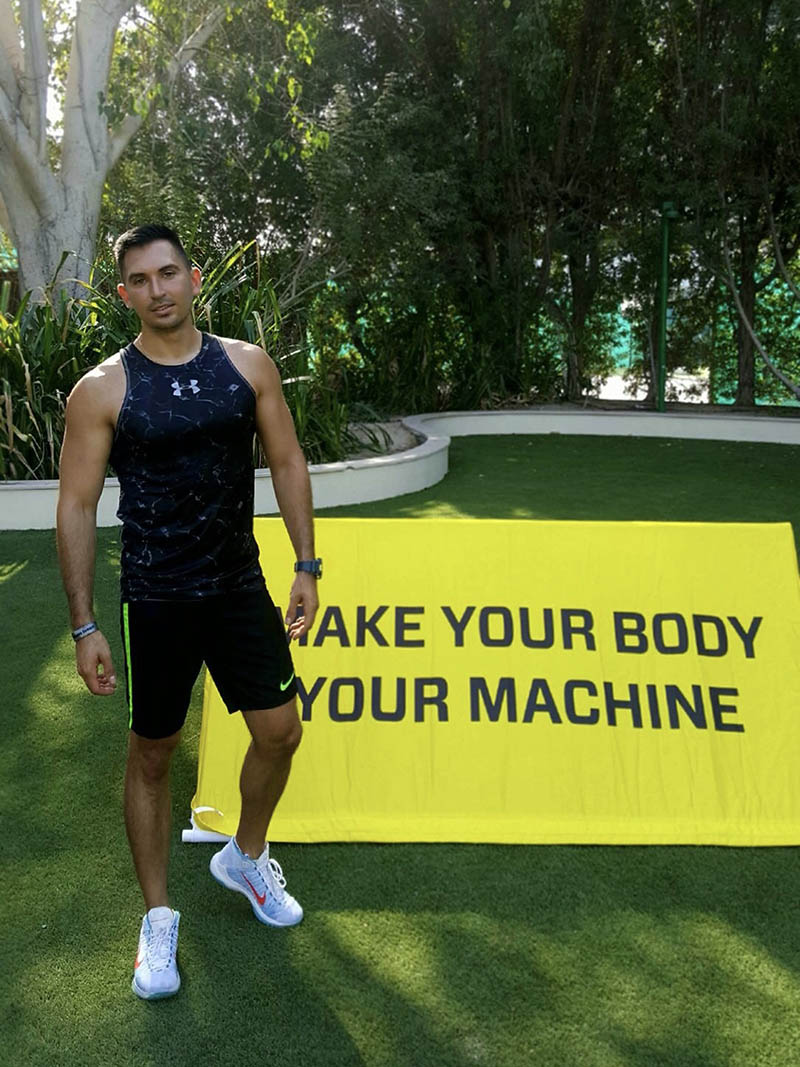 Abu Dhabi Personal Trainer Andrey - Gym Training